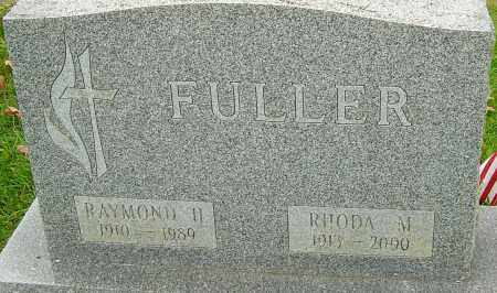 FULLER, RAYMOND - Franklin County, Ohio | RAYMOND FULLER - Ohio Gravestone Photos