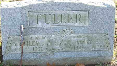 FULLER, STANLEY J - Franklin County, Ohio | STANLEY J FULLER - Ohio Gravestone Photos