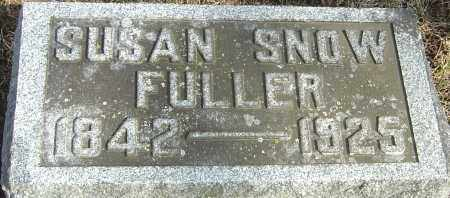 SNOW FULLER, SUSAN - Franklin County, Ohio | SUSAN SNOW FULLER - Ohio Gravestone Photos