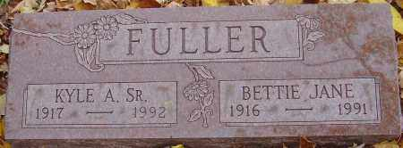 FULLER, BETTIE JANE - Franklin County, Ohio | BETTIE JANE FULLER - Ohio Gravestone Photos