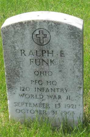 FUNK, RALPH E. - Franklin County, Ohio | RALPH E. FUNK - Ohio Gravestone Photos