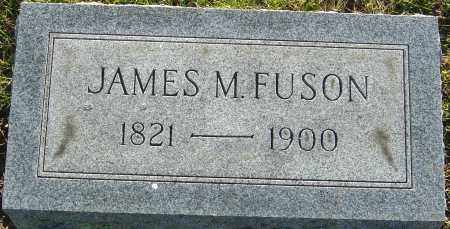FUSON, JAMES M - Franklin County, Ohio | JAMES M FUSON - Ohio Gravestone Photos