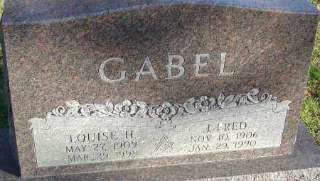 GABEL, LOUISE H - Franklin County, Ohio | LOUISE H GABEL - Ohio Gravestone Photos