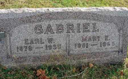 GABRIEL, MARY E. - Franklin County, Ohio | MARY E. GABRIEL - Ohio Gravestone Photos