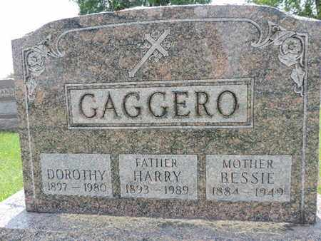 GAGGERO, HARRY - Franklin County, Ohio | HARRY GAGGERO - Ohio Gravestone Photos