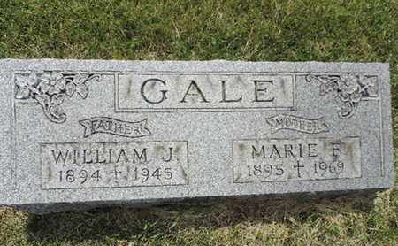 GALE, WILLIAM J. - Franklin County, Ohio | WILLIAM J. GALE - Ohio Gravestone Photos