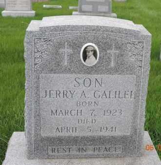 GALILEI, JERRY A - Franklin County, Ohio | JERRY A GALILEI - Ohio Gravestone Photos