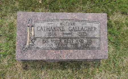GALLAGHER, CATHARINE - Franklin County, Ohio | CATHARINE GALLAGHER - Ohio Gravestone Photos