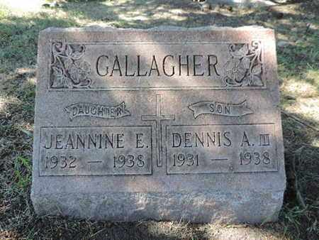 GALLAGHER, JEANNINE E. - Franklin County, Ohio | JEANNINE E. GALLAGHER - Ohio Gravestone Photos
