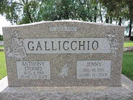 GALLICCHIO, ANTHONY - Franklin County, Ohio | ANTHONY GALLICCHIO - Ohio Gravestone Photos