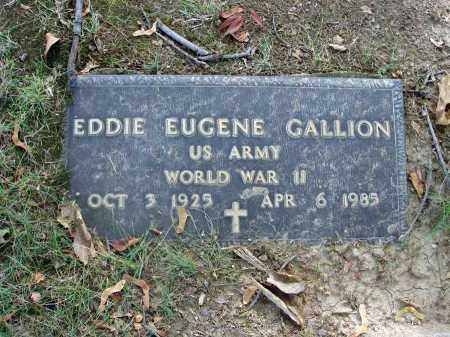 GALLION, EDDIE EUGENE - Franklin County, Ohio | EDDIE EUGENE GALLION - Ohio Gravestone Photos