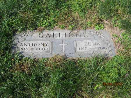 GALLIONE, EDNA MAE - Franklin County, Ohio | EDNA MAE GALLIONE - Ohio Gravestone Photos