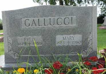 GALLUCCI, MARY - Franklin County, Ohio | MARY GALLUCCI - Ohio Gravestone Photos
