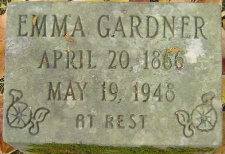 GARDNER, EMMA - Franklin County, Ohio | EMMA GARDNER - Ohio Gravestone Photos