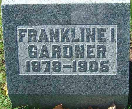 GARDNER, FRANKLINE I - Franklin County, Ohio | FRANKLINE I GARDNER - Ohio Gravestone Photos