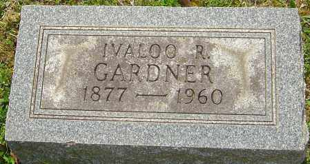 GARDNER, IVALOO R - Franklin County, Ohio | IVALOO R GARDNER - Ohio Gravestone Photos