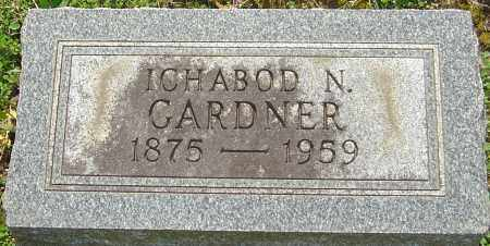 GARDNER, ICHABOD N - Franklin County, Ohio | ICHABOD N GARDNER - Ohio Gravestone Photos
