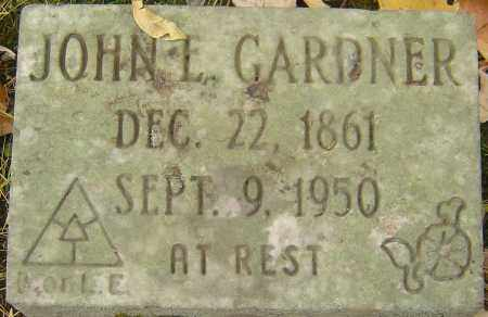 GARDNER, JOHN E - Franklin County, Ohio | JOHN E GARDNER - Ohio Gravestone Photos