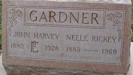 RICKEY GARDNER, NELLE - Franklin County, Ohio | NELLE RICKEY GARDNER - Ohio Gravestone Photos