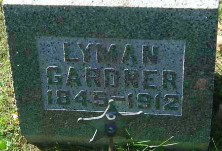 GARDNER, LYMAN - Franklin County, Ohio | LYMAN GARDNER - Ohio Gravestone Photos