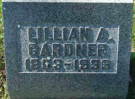 GARDNER, LILLIAN A - Franklin County, Ohio | LILLIAN A GARDNER - Ohio Gravestone Photos