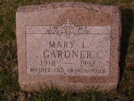 GARDNER, MARY L. - Franklin County, Ohio | MARY L. GARDNER - Ohio Gravestone Photos