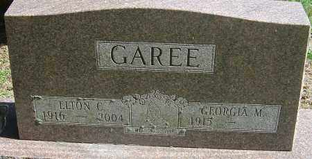 GAREE, ELTON C - Franklin County, Ohio | ELTON C GAREE - Ohio Gravestone Photos