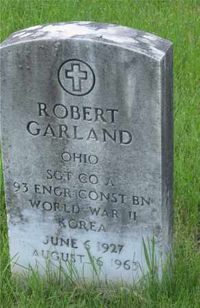 GARLAND, ROBERT - Franklin County, Ohio | ROBERT GARLAND - Ohio Gravestone Photos