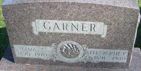 GARNER, ELLSWORTH K - Franklin County, Ohio | ELLSWORTH K GARNER - Ohio Gravestone Photos