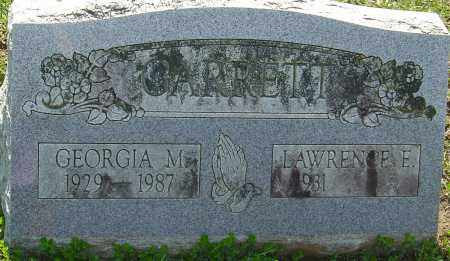 GARRETT, GEORGIA M - Franklin County, Ohio | GEORGIA M GARRETT - Ohio Gravestone Photos