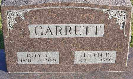 GARRETT, ROY F - Franklin County, Ohio | ROY F GARRETT - Ohio Gravestone Photos