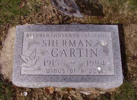 GARTIN, SHERMAN - Franklin County, Ohio | SHERMAN GARTIN - Ohio Gravestone Photos