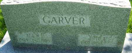 GARVER, LEE W - Franklin County, Ohio | LEE W GARVER - Ohio Gravestone Photos