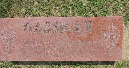 GASSMAN, WILLIAM E. - Franklin County, Ohio | WILLIAM E. GASSMAN - Ohio Gravestone Photos