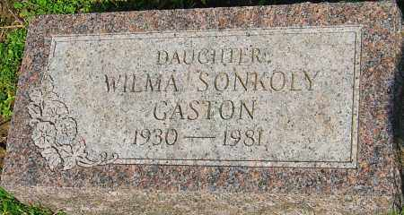GASTON, WILMA - Franklin County, Ohio | WILMA GASTON - Ohio Gravestone Photos