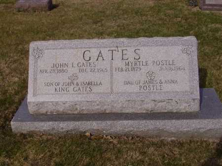POSTLE GATES, MYRTLE - Franklin County, Ohio | MYRTLE POSTLE GATES - Ohio Gravestone Photos