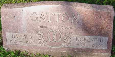 HILL GATTON, M NORENE - Franklin County, Ohio | M NORENE HILL GATTON - Ohio Gravestone Photos