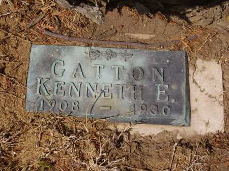 GATTON, KENNETH E. - Franklin County, Ohio | KENNETH E. GATTON - Ohio Gravestone Photos