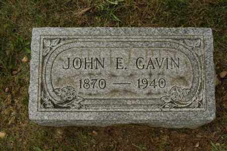 GAVIN, JOHN E. - Franklin County, Ohio | JOHN E. GAVIN - Ohio Gravestone Photos