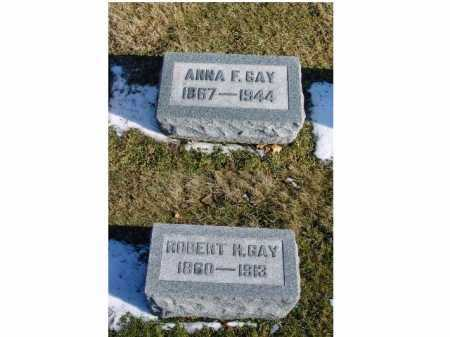 GAY, ANNA F. - Franklin County, Ohio | ANNA F. GAY - Ohio Gravestone Photos