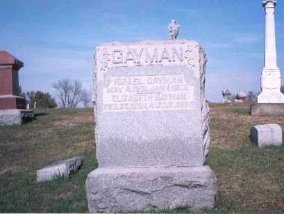 GAYMAN, ELIZABETH - Franklin County, Ohio | ELIZABETH GAYMAN - Ohio Gravestone Photos
