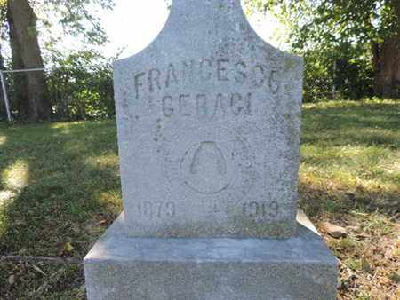 GEBAGI, FRANCESCO - Franklin County, Ohio | FRANCESCO GEBAGI - Ohio Gravestone Photos