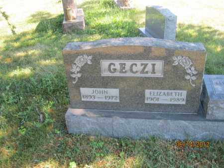 GECZI, ELIZABETH - Franklin County, Ohio | ELIZABETH GECZI - Ohio Gravestone Photos
