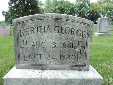 GEORGE, BERTHA - Franklin County, Ohio | BERTHA GEORGE - Ohio Gravestone Photos