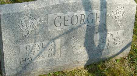 GEORGE, LEON L - Franklin County, Ohio | LEON L GEORGE - Ohio Gravestone Photos