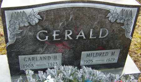 GERALD, GARLAND H - Franklin County, Ohio | GARLAND H GERALD - Ohio Gravestone Photos
