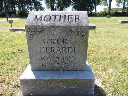 GERARDI, VINCENZA - Franklin County, Ohio | VINCENZA GERARDI - Ohio Gravestone Photos