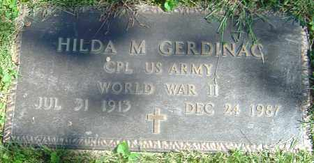 GERDINAC, HILDA M - Franklin County, Ohio | HILDA M GERDINAC - Ohio Gravestone Photos