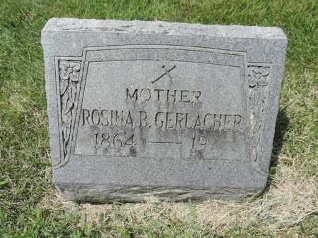 GERLACHER, ROSINA B. - Franklin County, Ohio | ROSINA B. GERLACHER - Ohio Gravestone Photos