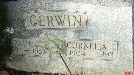 GERWIN, CORNELIA - Franklin County, Ohio | CORNELIA GERWIN - Ohio Gravestone Photos